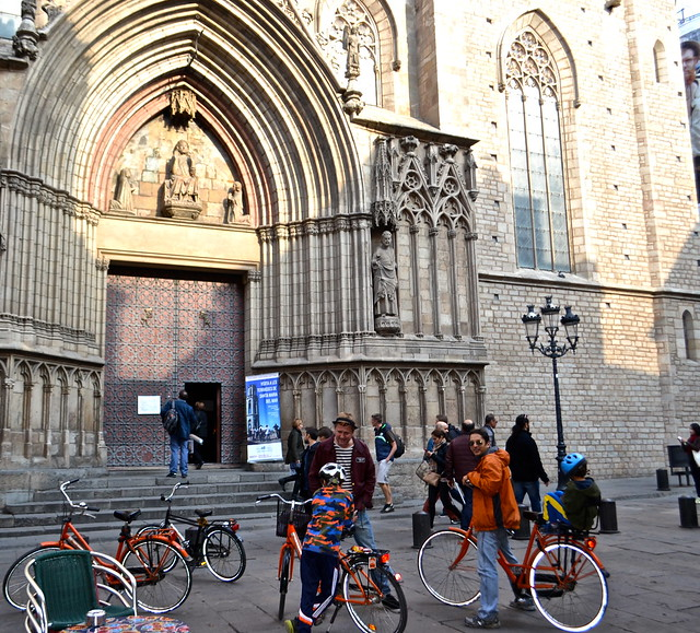 barcelona city tour - churches of barcelona