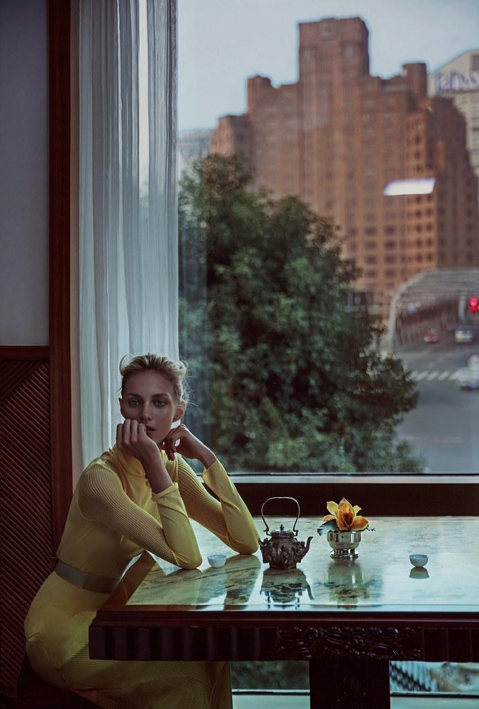Аня Рубик — Фотосессия для «Vogue» CH 2016 – 5