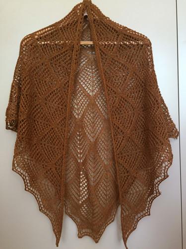 Bronze shawl