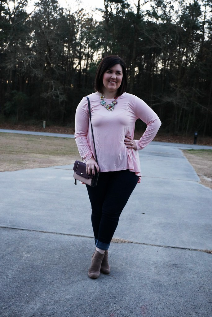 Pink Top for Valentine's Day 1