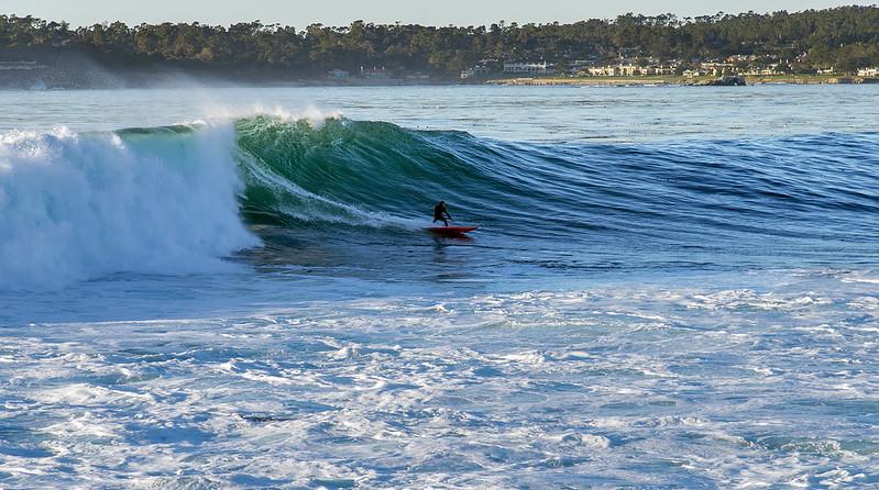 Surfing Carmel