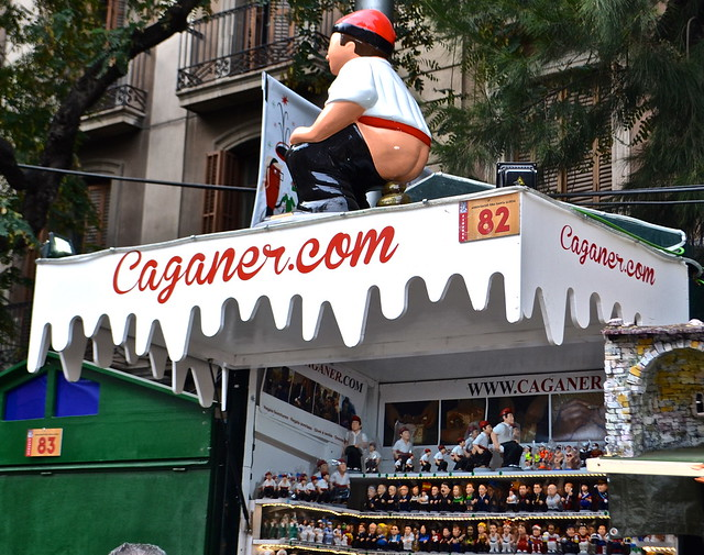 caganer - barcelona christmas tradition