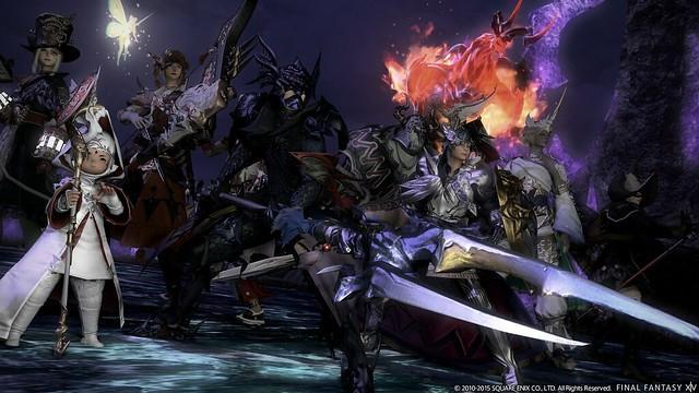 Final Fantasy XIV una captura del nuevo parche que llega el 23 de febrero de 2016