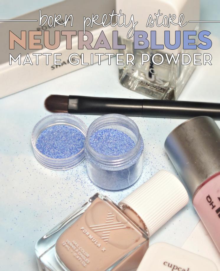 Born Pretty Store Matte Glitter Powder nail art (2)
