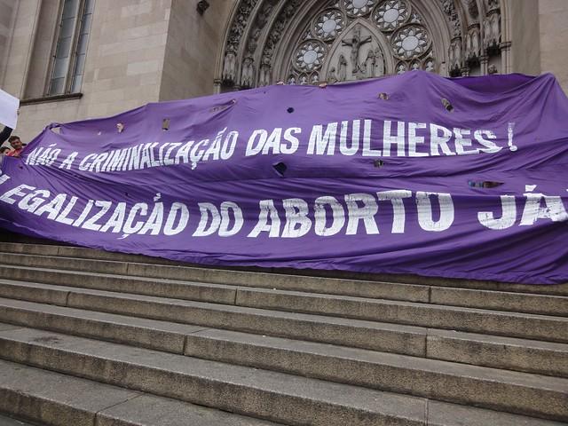 15_06_2013 Ato Contra PL Nascituro Praça da Sé São Paulo
