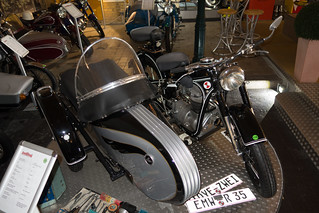 1954 EMW R 35/3 motorcycle with sidecar