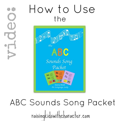 Video: How to Use the ABC Sounds Song Packet