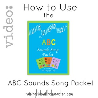 How to Use the ABC Sounds Song Packet