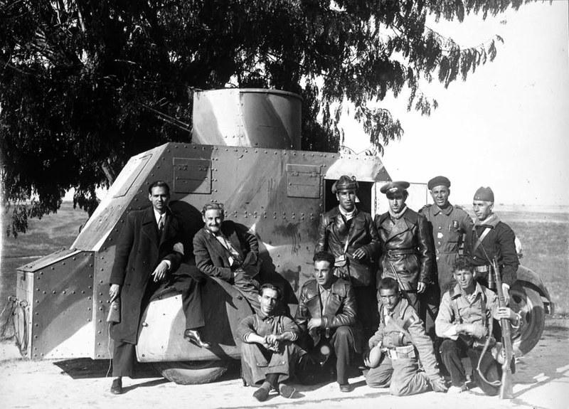 Frente de Toledo en 1936. Foto de Miguel Pando Barrero (Museo Reina Sofía)