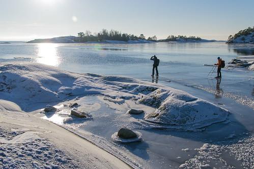 winter ice nature sweden skating skate sverige 2016 södermanland långfärdsskridsko vålarö