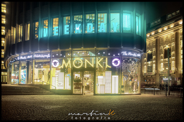 Weekday- and Monki-Store