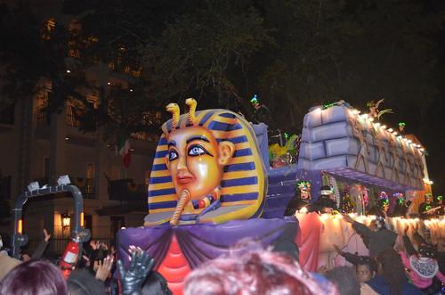 Cleopatra float