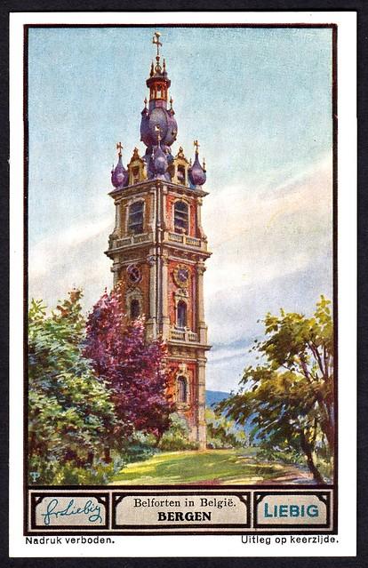 Liebig Tradecard S1330 - Bergen (Mons)