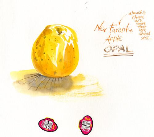 Sketchbook #94: Apple