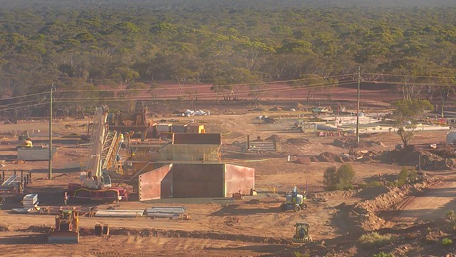 Mt Marion Lithium Project construction