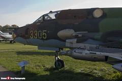 3305 - 30305 - Polish Air Force - Sukhoi SU-22M-4 - Polish Aviation Musuem - Krakow, Poland - 151010 - Steven Gray - IMG_0386