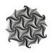 Energy-A spiral #origami #corrugation #paperfolding #ekaterinalukasheva by _Ekaterina