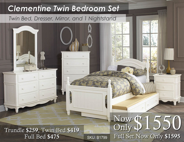 Clementine Twin Bed Set