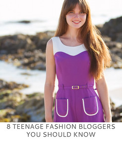 8 Teenage Fashion Bloggers You Should Know | Not Dressed As Lamb