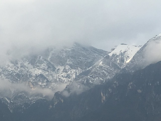Snowy Trentini Peaks