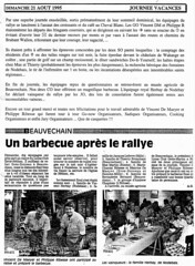 Rallye Août 1995