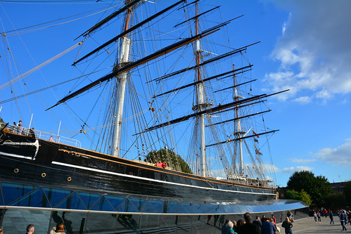 London, The Cutty Sark, Greenwich