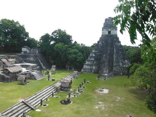 Plaça Central a Tikal.