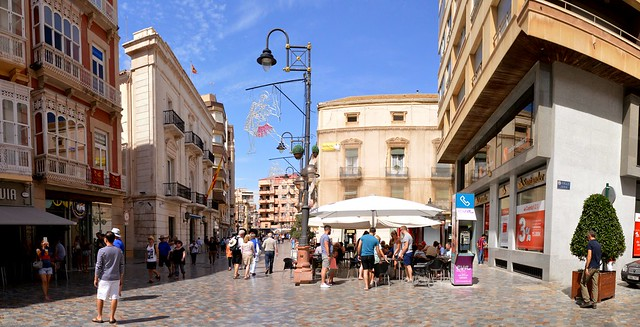 Plaza San Sebastian, Cartagena Panorama, Nikon D3200. DSC_0108-0113.