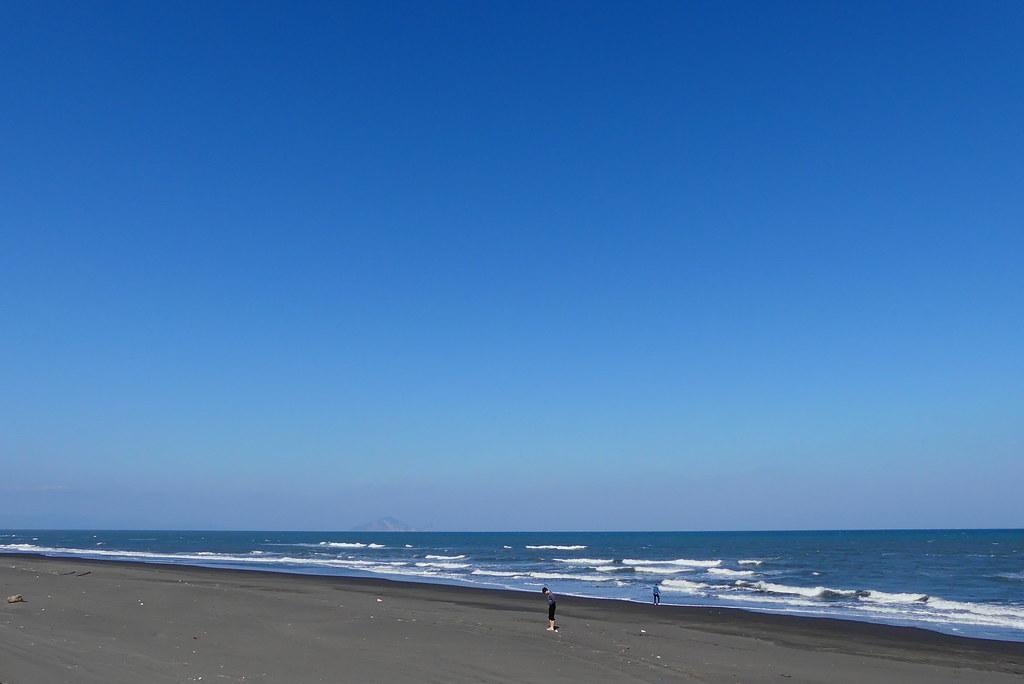 近蘭陽溪口、利澤海邊   【FZ300】