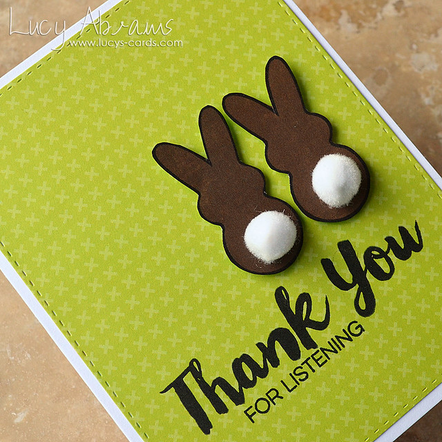 Thank You Bunnies 2 by Lucy Abrams