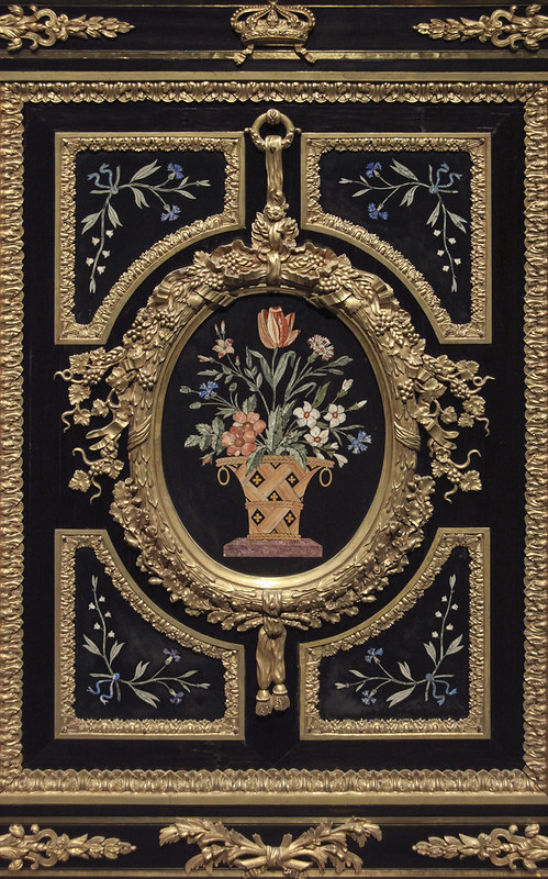 Part of Three-door cabinet,  c. 1835 - 38