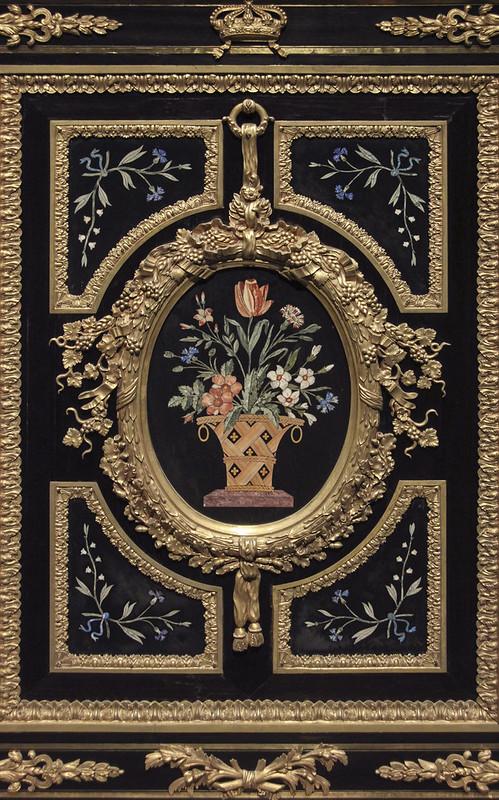 Part of Three-door cabinet,  c. 1835 - 38