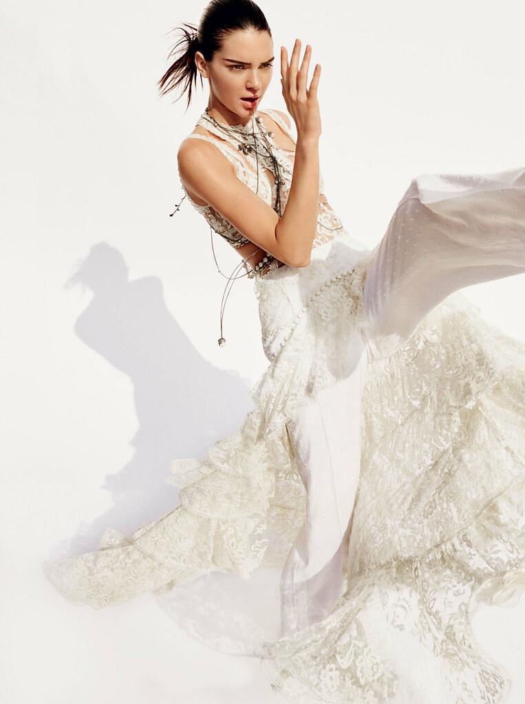 Кендалл Дженнер — Фотосессия для «Vogue» 2016 – 4
