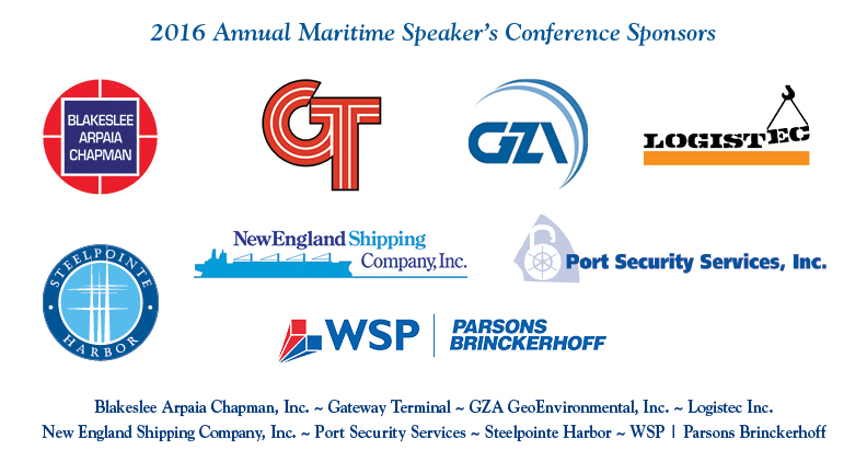 2016 Annual Maritime Speaker's Conference Sponsors