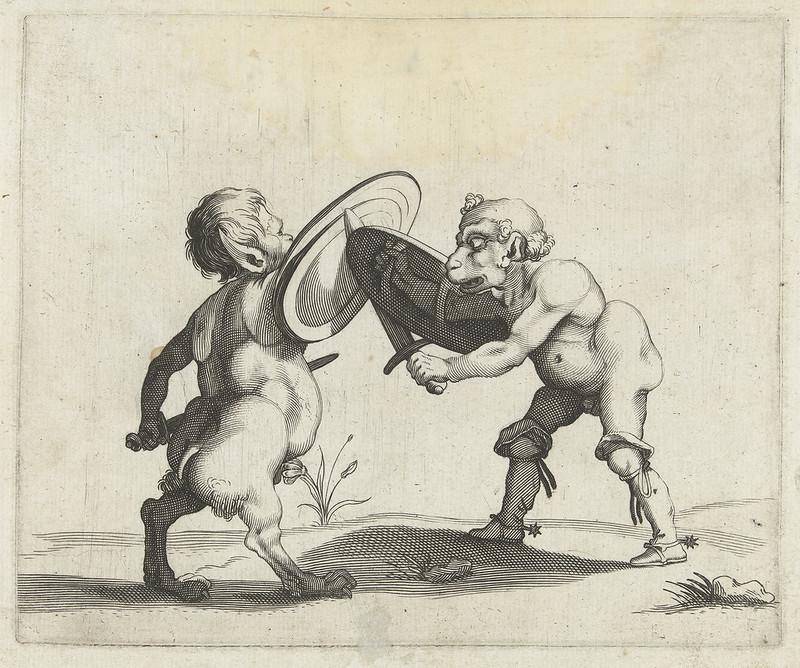 Arent van Bolten - Grotesque Creatures 16, 1604-1616