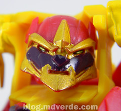 Transformers Lazerback Deluxe - Transformers Prime Beast Hunters - modo