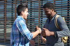 Estudiantes extranjeros reciben bienvenida de la UCSC