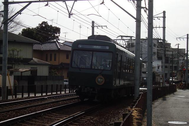 """2016/03 叡山電車731号車""""ノスタルジック731"""" #01"""