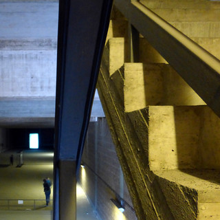 concrete cavern