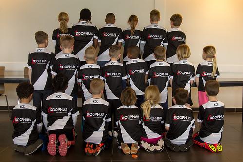 Shirtsponsor E en F teams