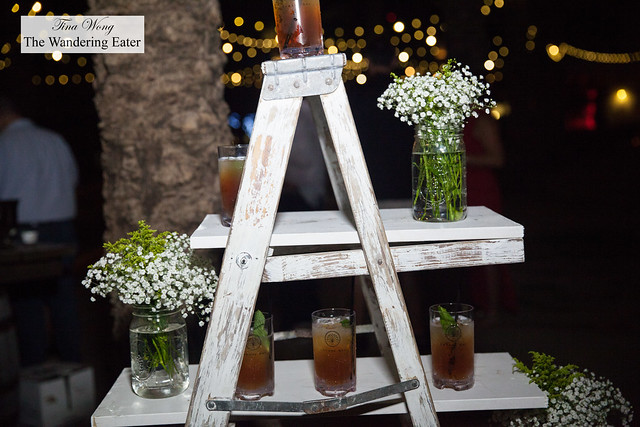 Tower of Karoo - Jim Bean Honey mint julep