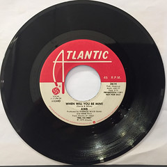 AWB:WHEN WILL YOU BE MINE(RECORD SIDE-B)