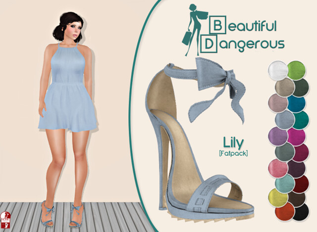 ! BD ! Lily Heels [Fatpack]