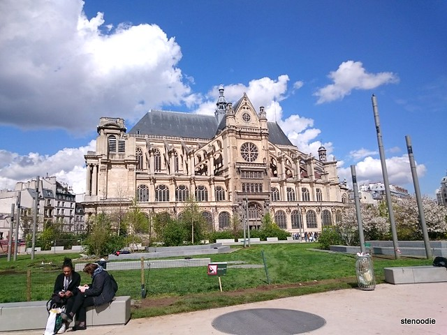 Saint-Eustache church in Paris