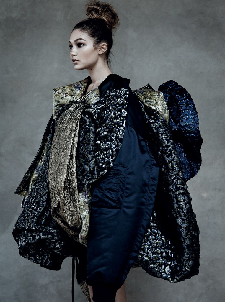 Джиджи Хадид — Фотосессия для «Vogue» IT 2016 – 2