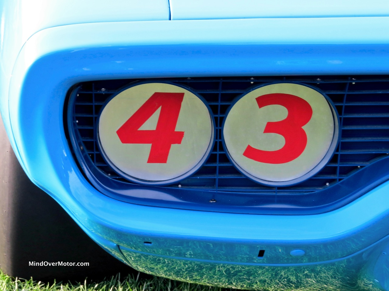 1971 Plymouth Road Runner NASCAR Light Covers