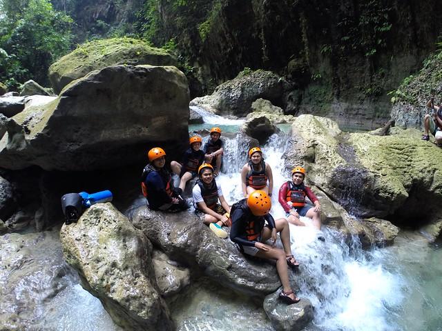 Cebu Team x Kawasan Canyoneering