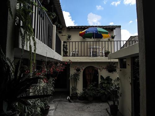 Antigua: notre hôtel Santa Teresita