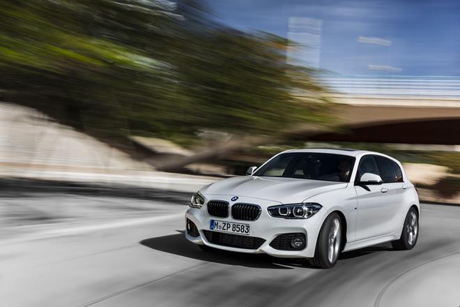 [新聞照片一]BMW 1系列五門掀背跑車搭載M款跑車化套件