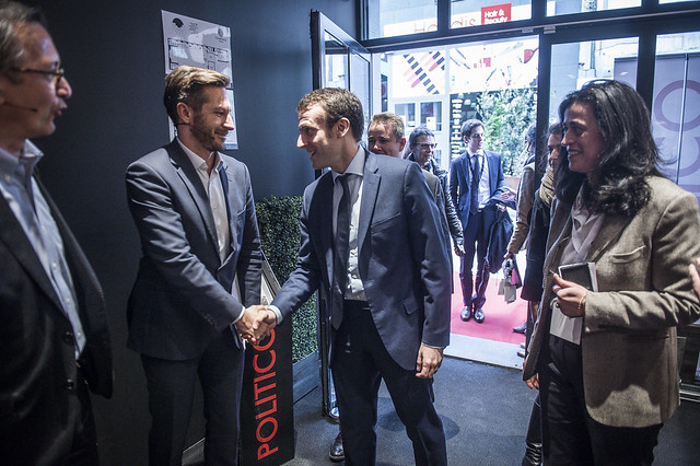 20160618 Playbook Cocktails with E. Macron